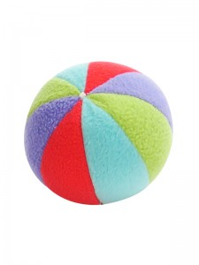Fleece Ball Baby Toy by Kate Finn Australia