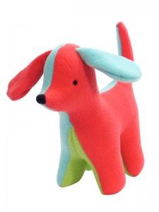 Fleece Puppy Baby Toy by Kate Finn Australia