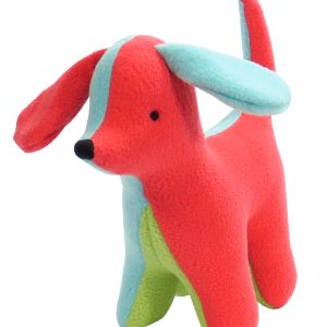 Fleece Puppy Baby Toy by Kate Finn Australia