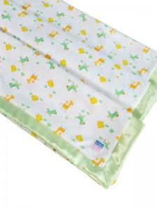 Apple Cotton Summer Baby Blanket by Kate Finn Australia