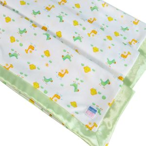 Apple Cotton Summer Baby Blanket by Kate Finn Australia