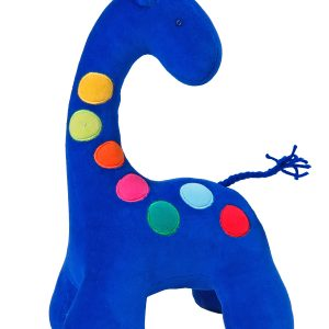 Dotty Giraffe Baby Toy Royal by Kate Finn Australia