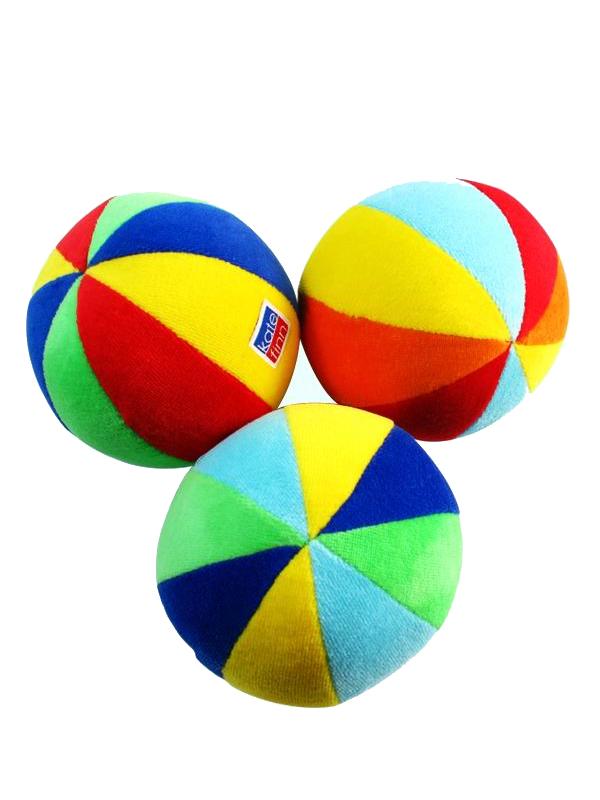 Ball Baby Toy Primary Velvet by Kate Finn Australia