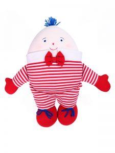 Humpty Dumpty Baby Toy Red Stripe by Kate Finn Australia