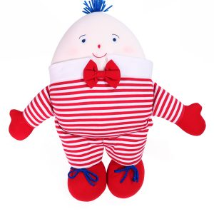 Humpty Dumpty Baby Toy Red Stripe by Kate Finn Australia