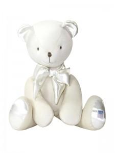 Ivory velvet Bear Baby Toy