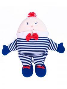 Humpty Dumpty Navy Stripe by Kate Finn Australia