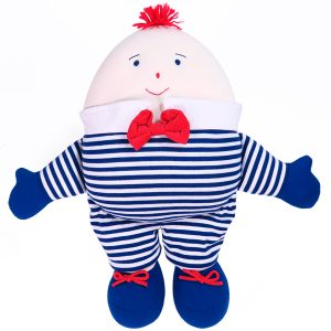 Humpty Dumpty Navy Stripe by Kate Finn Australia
