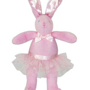 Ballet Bunny Squeaker Baby Toy by Kate Finn Australia