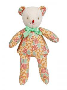 Caramel Squeaker Bear Baby Toy