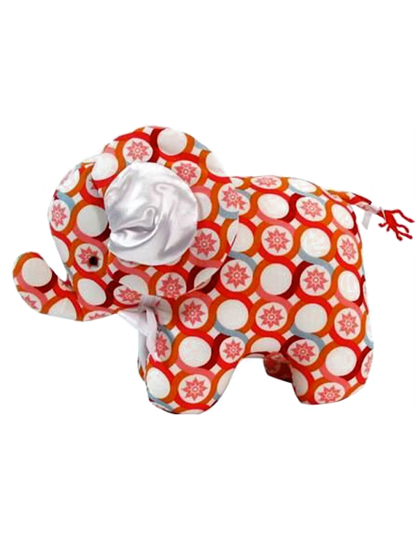 Persimmon Elephant Baby Toy by Kate Finn Australia