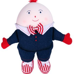 Humpty Dumpty Baby Toy Denim by Kate Finn Australia