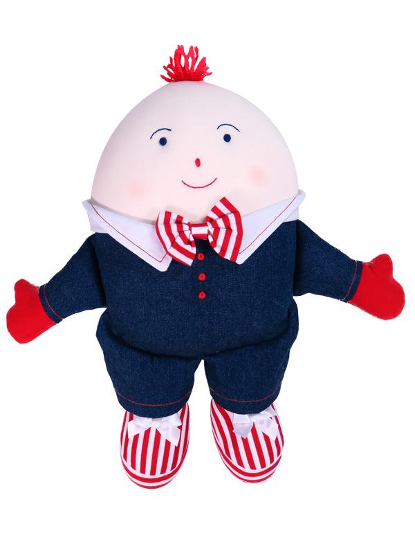 Humpty Dumpty Baby Toy Denim by Kate Finn Australia