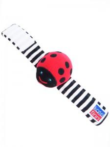 Ladybug Wrist Rattle Baby Toy by Kate Finn Australia