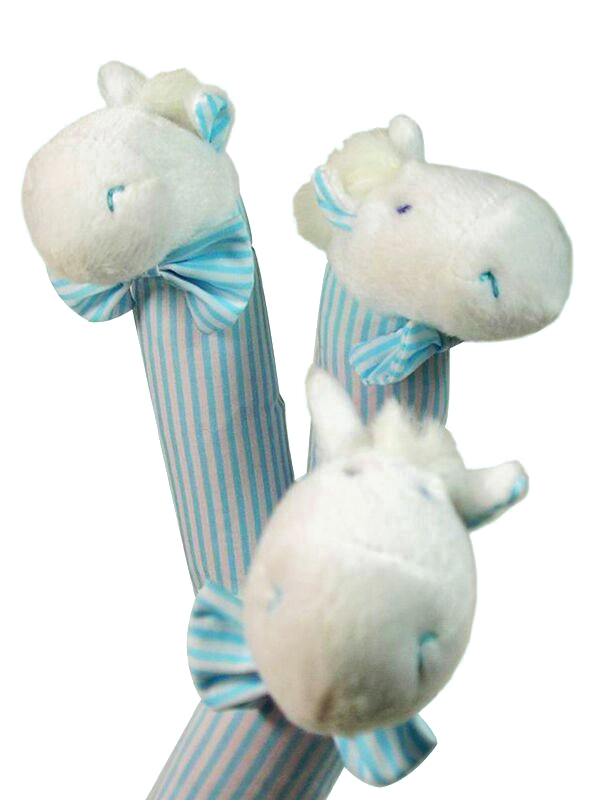 Aqua Stripe Pony Squeaker by Kate Finn Australia
