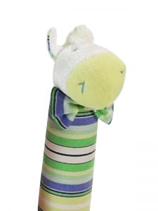 Jackson Stripe Pony Squeaker by Kate Finn Australia