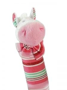 Shellie Stripe Pony Squeaker by Kate Finn Australia