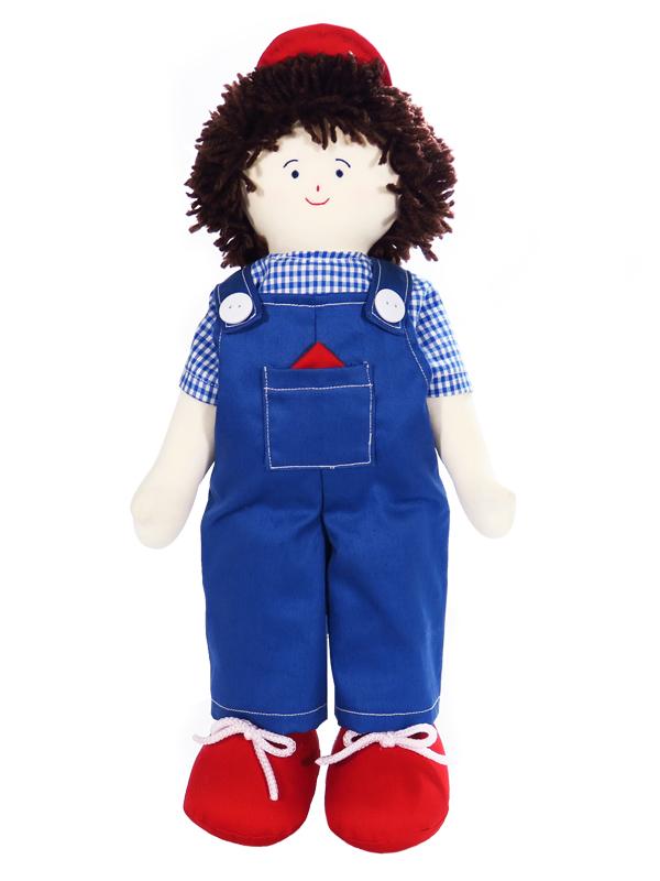 Fixit Finn 41cm Rag Doll by Kate Finn