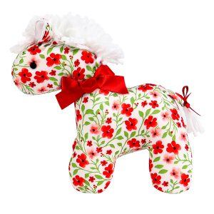Poppy Mini Horse Baby Toy by Kate Finn Australia