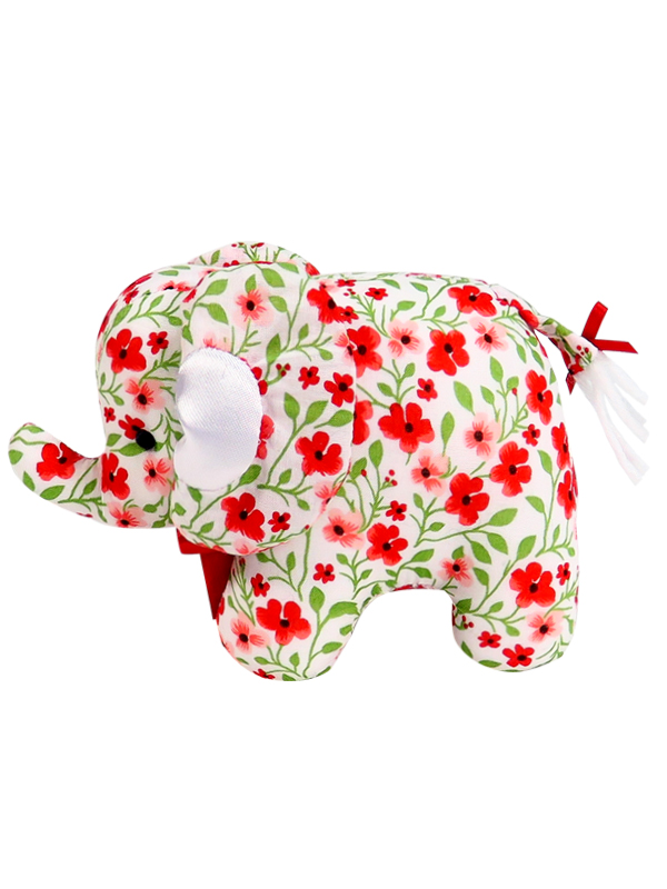 Poppy Mini Elephant Baby Toy by Kate Finn Australia