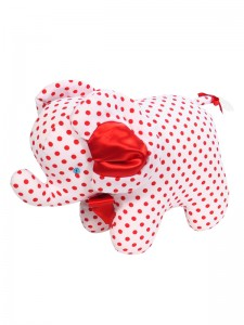 Red Dot Elephant Baby Toy by Kate Finn Australia