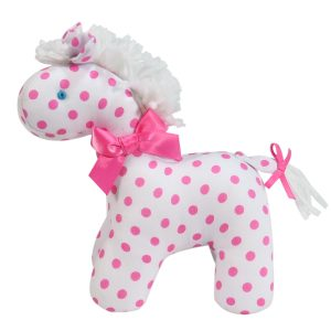 Pink Dot Mini Horse Baby Toy
