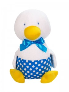 Ducky Swimmers Baby Toy Aqua by Kate Finn