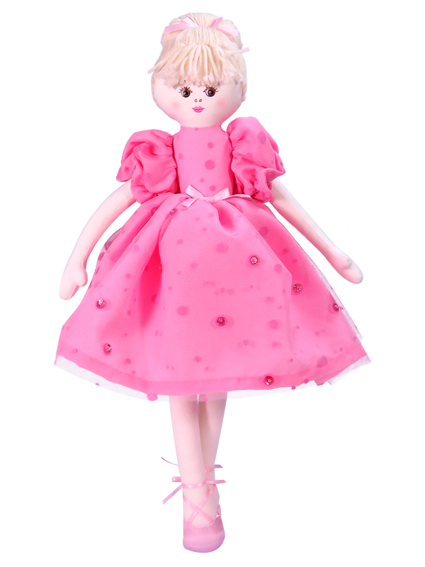 Maddie Ballet 40cm Rag Doll by Kate Finn
