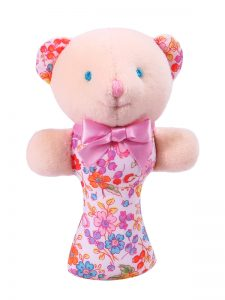 Pot Pourri Bear Baby Rattle by Kate Finn Australia