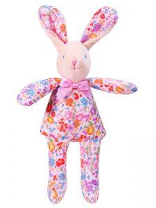 Pot Pourri Bunny Squeaker Baby Toy by Kate Finn Australia