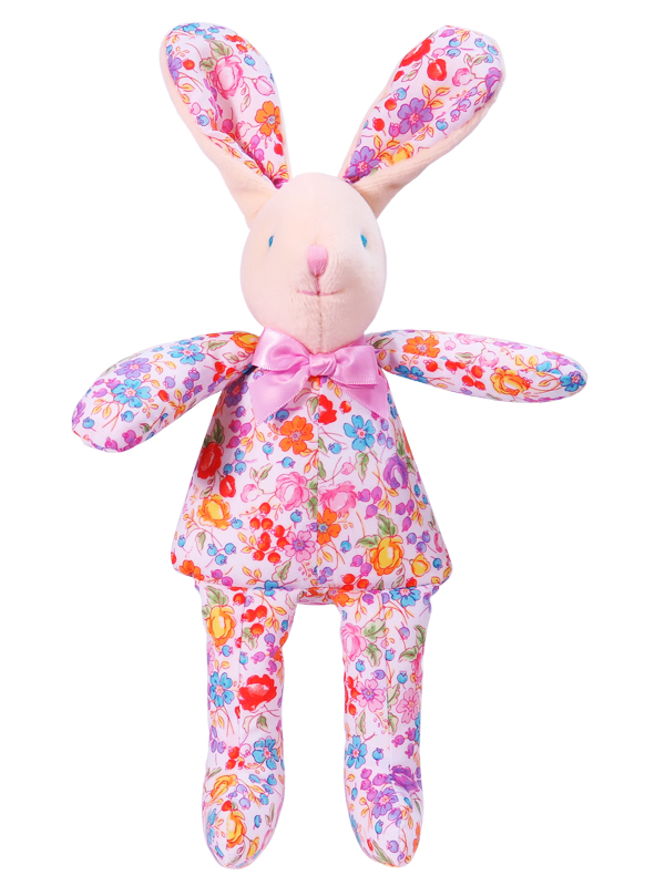 Pot Pourri Bunny Squeaker Baby Toy by Kate Finn Australia