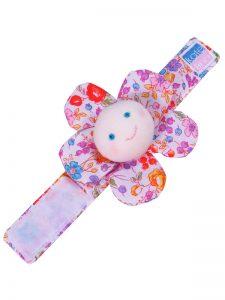 Pot Pourri Flower Wrist Rattle Baby Toy by Kate Finn Australia