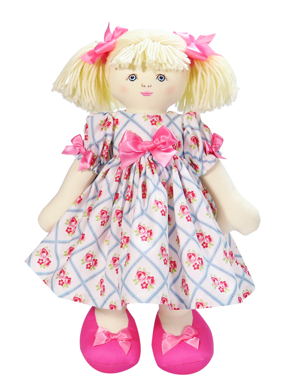 Amanda 39cm Rag Doll by Kate Finn Australia