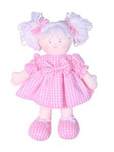 Sweetie 28cm Rag Doll Pink Designed by Kate Finn