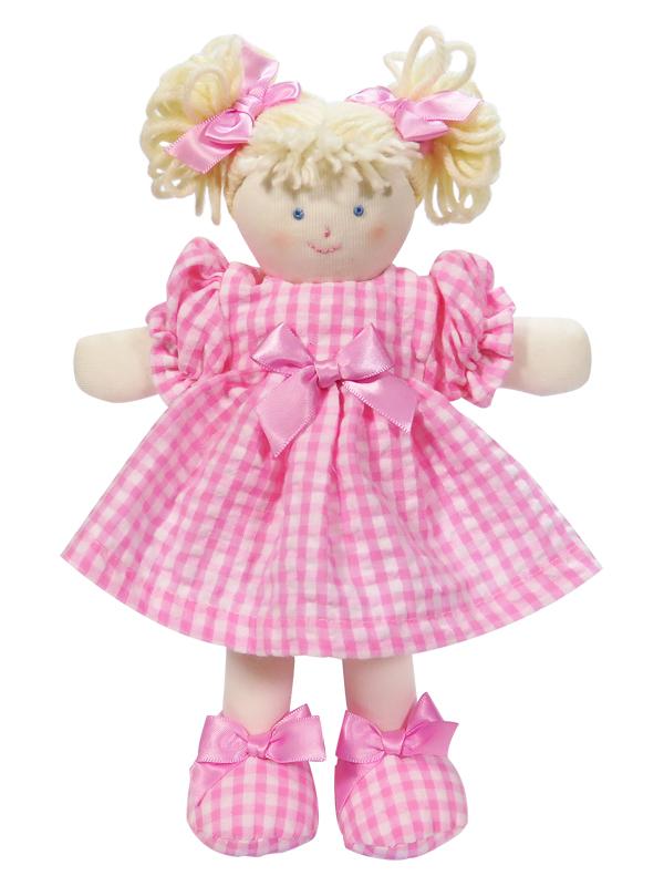 Mini Pen 21cm Rag Doll Pink by Kate Finn