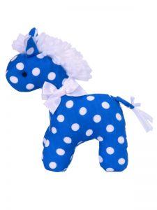 Royal Polka Dot Mini Horse by Kate Finn Australia