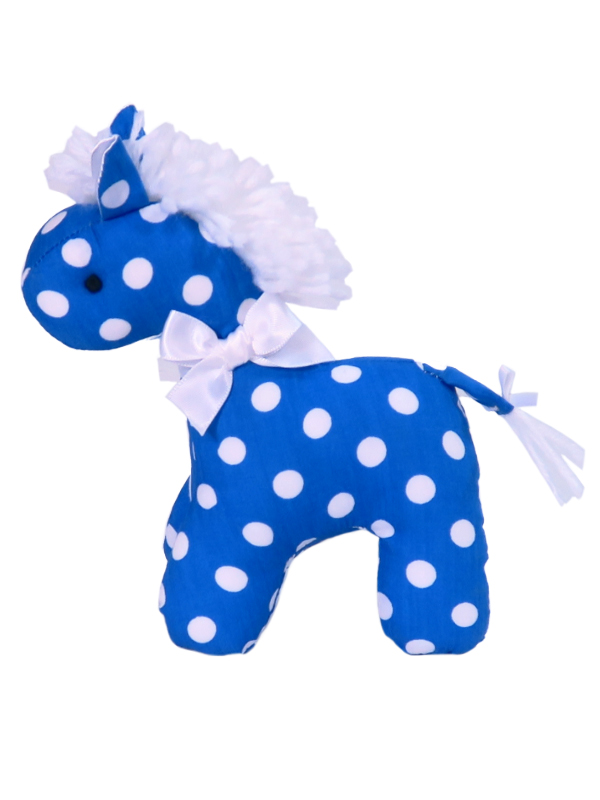 Royal Polka Dot Mini Horse by Kate Finn Australia