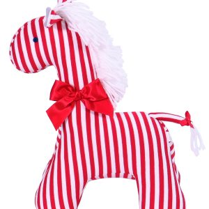 Red Stripe Horse Baby Toy by Kate Finn Australia
