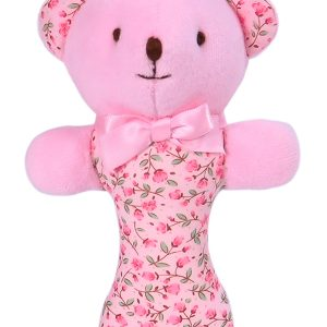 Rosebud Bear Baby Rattle by Kate Finn Australia