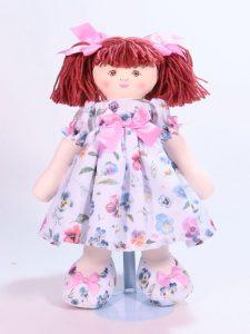 Camille 39cm Rag Doll Designed and Sold by Kate Finn Australia