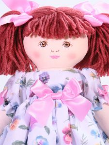 Camille 39cm Rag Doll Designed by Kate Finn