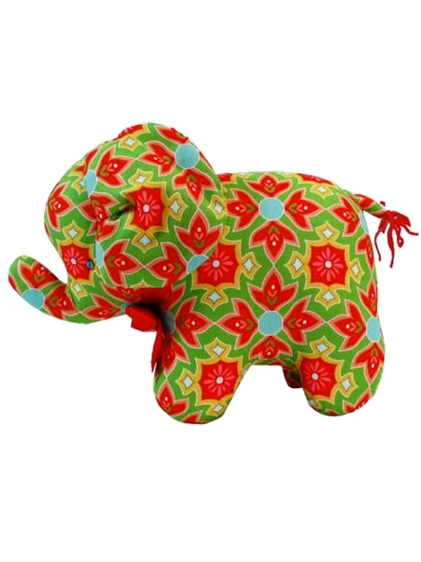 Delighted Print Elephant Baby Toy by Kate Finn Australia