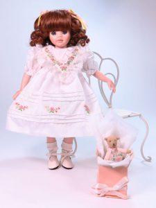 Mothers Day 30cm Porcelain Doll by Pauline Bjonness-Jacobsen