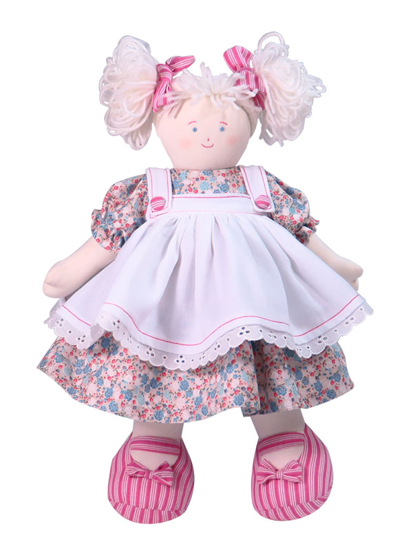 Callie 41cm rag Doll Designed by Kate Finn