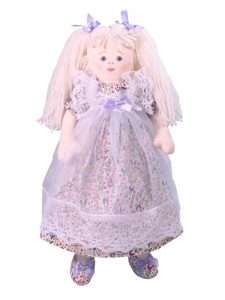 Lorelai 47cm Rag Doll Designed by Kate Finn