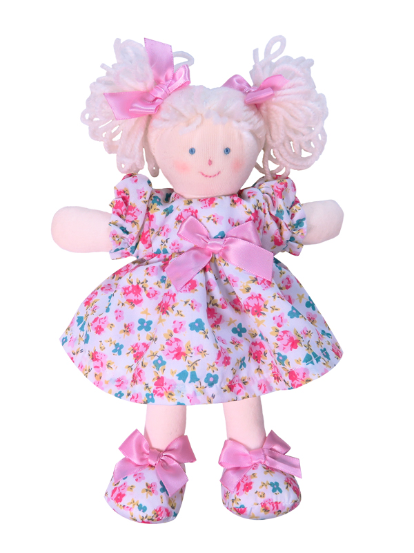 Mini Emmie 21cm Rag Doll Designed and Sold by Kate Finn