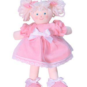 Mini Abbie 21cm Rag Doll Designed and Sold by Kate Finn