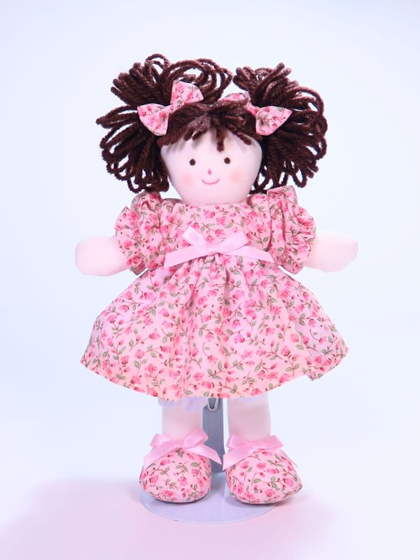Mini Sue 21cm Rag Doll Designed and Sold by Kate Finn Australia