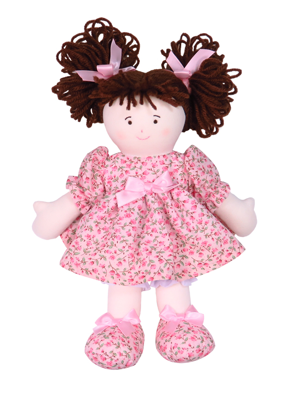 Susie 28cm Rag Doll Designed and Sold by Kate Finn