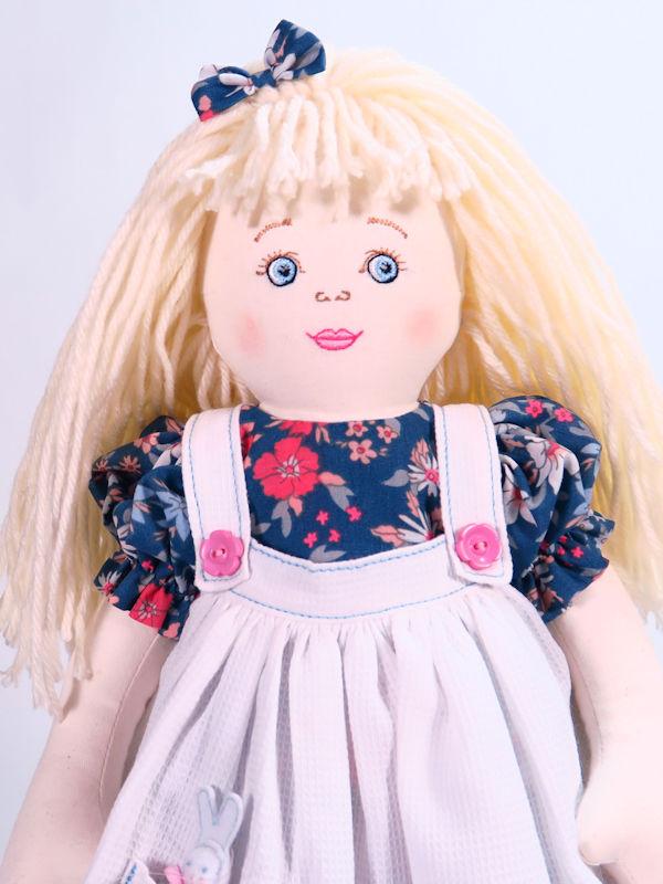Alice 47cm rag Doll by Kate Finn